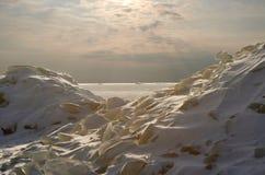 πάγος πεδίων 2 μάχης Στοκ Εικόνες