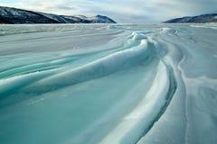 πάγος πεδίων Στοκ Εικόνες