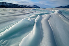 πάγος πεδίων Στοκ Εικόνα