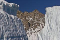 πάγος πλαισίων Στοκ φωτογραφία με δικαίωμα ελεύθερης χρήσης