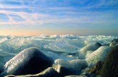 πάγος που ανακατώνεται Στοκ φωτογραφία με δικαίωμα ελεύθερης χρήσης