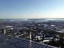 Πάγος που λειώνει στο Όσλο Στοκ Εικόνες