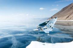 πάγος που λειώνουν Στοκ Φωτογραφία