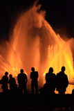 πάγος πυρκαγιάς Στοκ Φωτογραφία