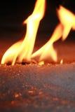 πάγος πυρκαγιάς Στοκ φωτογραφία με δικαίωμα ελεύθερης χρήσης
