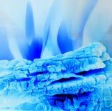 πάγος πυρκαγιάς Στοκ Φωτογραφίες