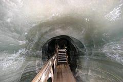 πάγος σπηλιών Στοκ Εικόνες