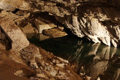 πάγος σπηλιών kungur Στοκ φωτογραφία με δικαίωμα ελεύθερης χρήσης