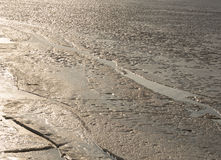 Πάγος στον ποταμό στοκ φωτογραφίες με δικαίωμα ελεύθερης χρήσης
