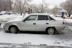 Πάγος στο αυτοκίνητο Στοκ φωτογραφία με δικαίωμα ελεύθερης χρήσης