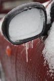 Πάγος στο αυτοκίνητο Στοκ Εικόνα