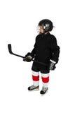 πάγος χόκεϋ αγοριών Στοκ φωτογραφία με δικαίωμα ελεύθερης χρήσης