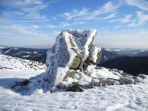 πάγος 2 κρυστάλλου μεγάλος Στοκ εικόνα με δικαίωμα ελεύθερης χρήσης