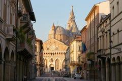 Πάδοβα, Ιταλία - 24 Αυγούστου 2017: οικοδόμημα της επισκοπικής βασιλικής Αγίου Anthony της Πάδοβας Στοκ Εικόνες