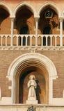 Πάδοβα, Ιταλία - 24 Αυγούστου 2017: οικοδόμημα της επισκοπικής βασιλικής Αγίου Anthony της Πάδοβας Στοκ Φωτογραφία