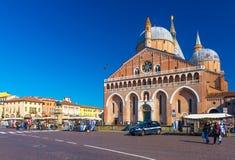 Πάδοβα, περιοχή του Βένετο, της Ιταλίας: Η βασιλική του Di Πάδοβα του ST Anthony Basilica Di Sant ` Antonio Στοκ Εικόνα