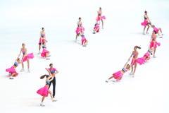 Πάθος ομάδας στον κύκλο Στοκ φωτογραφία με δικαίωμα ελεύθερης χρήσης