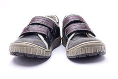 πάνινα παπούτσια αθλητικών παπουτσιών Στοκ εικόνα με δικαίωμα ελεύθερης χρήσης