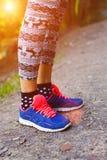 Πάνινα παπούτσια για τον αθλητισμό Στοκ φωτογραφία με δικαίωμα ελεύθερης χρήσης