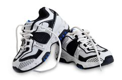 Πάνινα παπούτσια για το αγόρι. στοκ φωτογραφίες με δικαίωμα ελεύθερης χρήσης