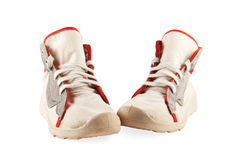 πάνινα παπούτσια δύο Στοκ Εικόνα