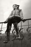 πάνινα παπούτσια κοριτσιών στοκ εικόνες με δικαίωμα ελεύθερης χρήσης