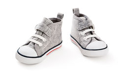Πάνινα παπούτσια μωρών στοκ φωτογραφίες