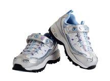 πάνινα παπούτσια μωρών στοκ εικόνα