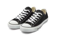 Πάνινα παπούτσια στο άσπρο υπόβαθρο Στοκ εικόνες με δικαίωμα ελεύθερης χρήσης