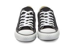 Πάνινα παπούτσια στο άσπρο υπόβαθρο Στοκ Εικόνες