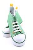 πάνινα παπούτσια Στοκ φωτογραφίες με δικαίωμα ελεύθερης χρήσης