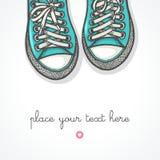 Πάνινα παπούτσια Στοκ Φωτογραφία