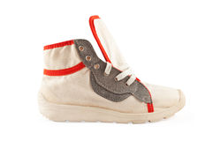 πάνινο παπούτσι Στοκ εικόνα με δικαίωμα ελεύθερης χρήσης