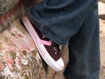 Πάνινο παπούτσι Στοκ εικόνες με δικαίωμα ελεύθερης χρήσης
