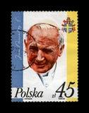 Πάπας Ιωάννης Παύλος Β', 15η επέτειος της εκλογής, διάσημος ηγέτης θρησκείας, circa 1993, Στοκ Φωτογραφία