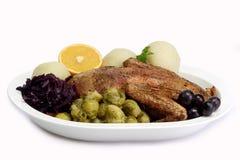 πάπια γευμάτων Στοκ φωτογραφίες με δικαίωμα ελεύθερης χρήσης