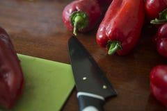 Πάπρικα κόκκινων πιπεριών Στοκ φωτογραφίες με δικαίωμα ελεύθερης χρήσης