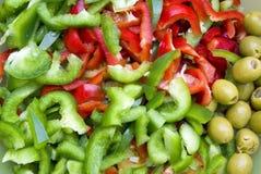 πάπρικα salat Στοκ Φωτογραφία