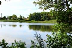Πάρκα και λίμνες της Δανίας Στοκ Εικόνες