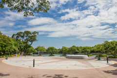 Πάρκα στην Ταϊλάνδη Στοκ φωτογραφία με δικαίωμα ελεύθερης χρήσης