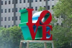 Πάρκο αγάπης της Φιλαδέλφειας - Πενσυλβανία - ΗΠΑ Στοκ Εικόνες
