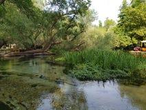 Πάρκο Αγίου Varvara δράματος στην Ελλάδα στοκ εικόνα με δικαίωμα ελεύθερης χρήσης