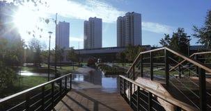 πάρκο γεφυρών ξύλινο φιλμ μικρού μήκους
