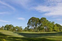 Πάρκο γκολφ Στοκ Φωτογραφία