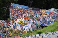 Πάρκο γκράφιτι Στοκ εικόνες με δικαίωμα ελεύθερης χρήσης