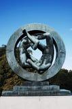 Πάρκο γλυπτών Vigeland, ΟΣΛΟ, ΝΟΡΒΗΓΙΑ Στοκ Εικόνες