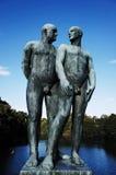 Πάρκο γλυπτών Vigeland, ΟΣΛΟ, ΝΟΡΒΗΓΙΑ Στοκ εικόνες με δικαίωμα ελεύθερης χρήσης