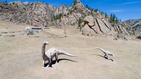 Πάρκο δεινοσαύρων της Μογγολίας Στοκ εικόνα με δικαίωμα ελεύθερης χρήσης
