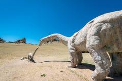 Πάρκο δεινοσαύρων της Μογγολίας Στοκ Φωτογραφίες