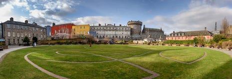 Πάρκο Δουβλίνο, Δημοκρατία του Castle της Ιρλανδίας Στοκ φωτογραφία με δικαίωμα ελεύθερης χρήσης